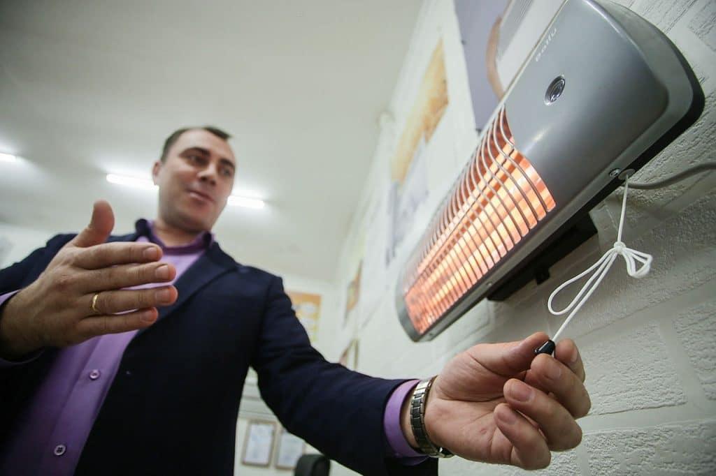 high efficiency space heater