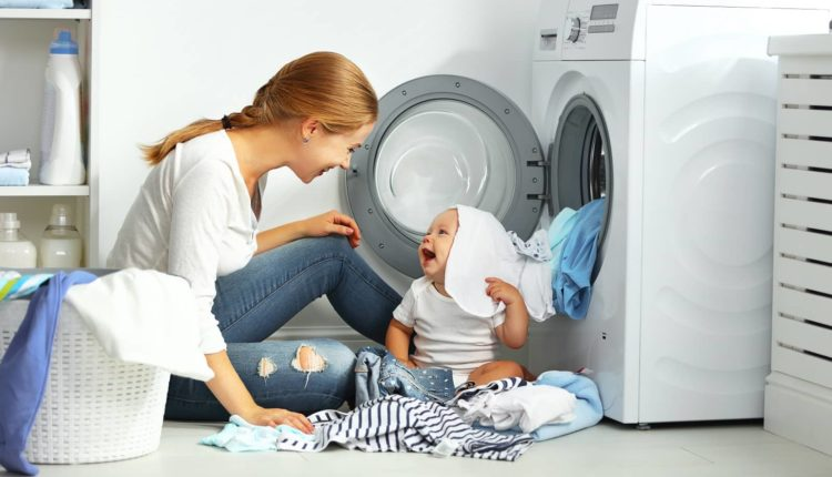 how to get the smell out of a washing machine